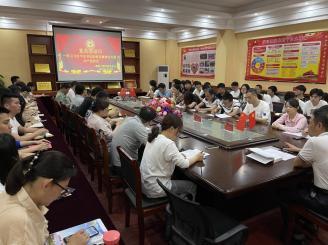 建筑工程学院召开五月份党员活动日